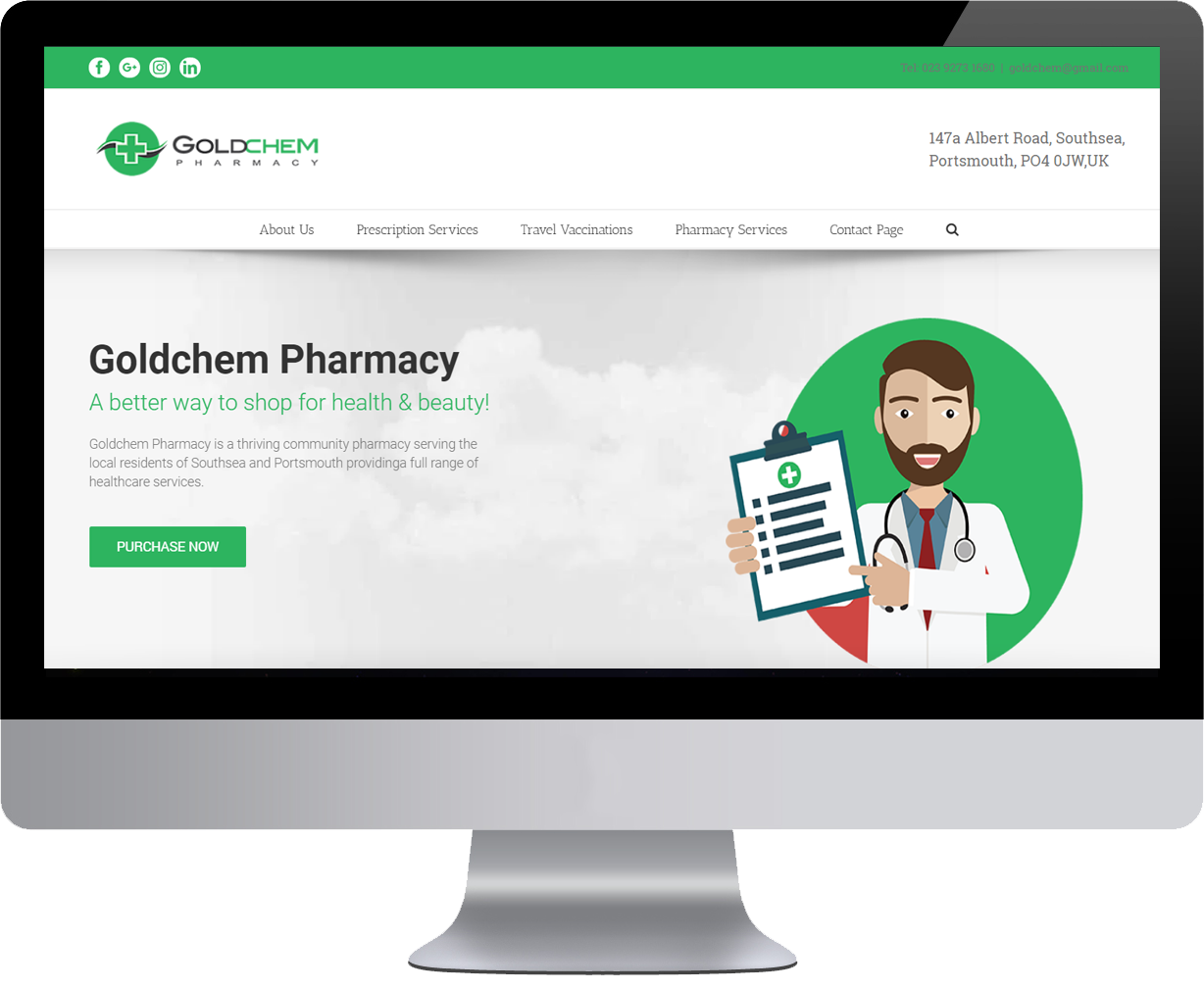 Goldchem Pharmacy and Chemist UK